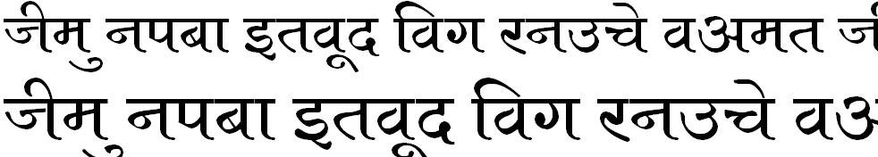 Kruti Dev 684 Hindi Font