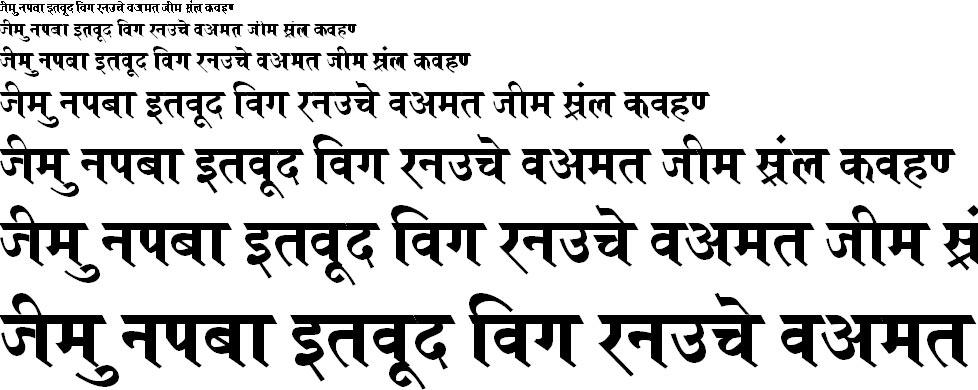 Kruti Dev 692 Hindi Font
