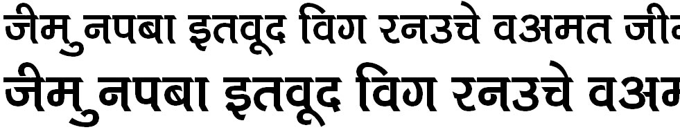 Kruti Dev 710 Hindi Font