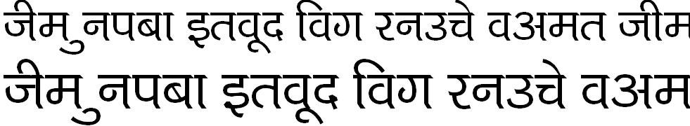 Kruti Dev 714 Hindi Font
