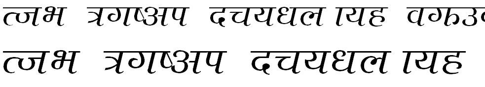 Ktm1nA Hindi Font