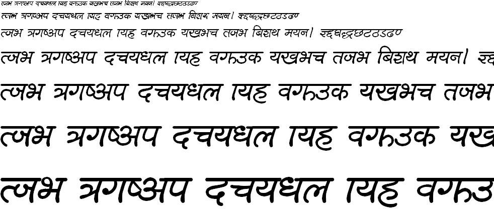 Lalit B Hindi Font