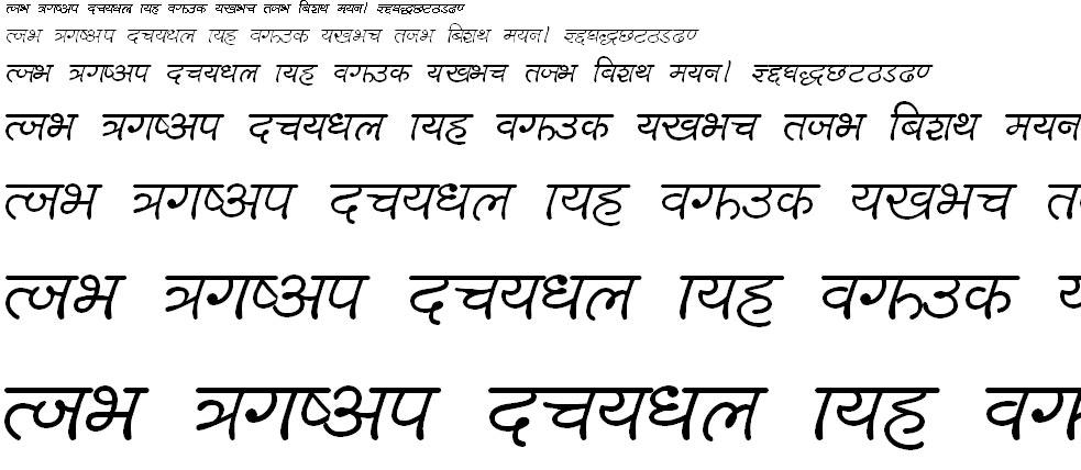 Lalit L Hindi Font