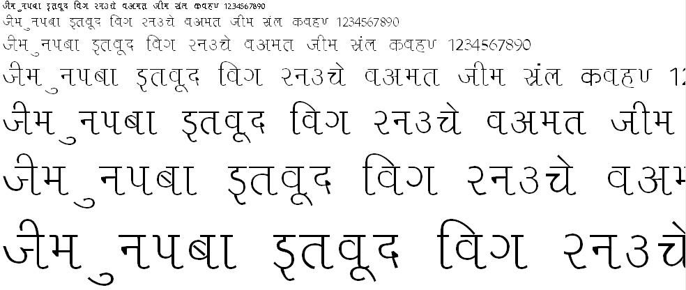 Liza Hindi Font