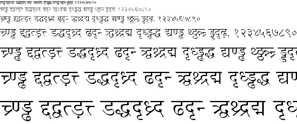 LokWeb Hindi Font