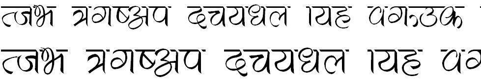Maiya Hindi Font