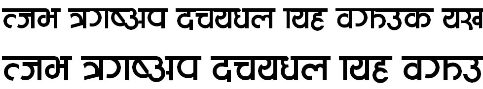 Meena Hindi Font