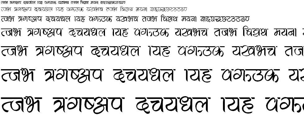 Meera Hindi Font