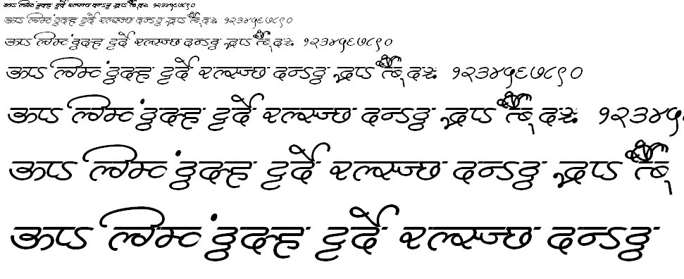 MillenniumDeepak Normal Hindi Font