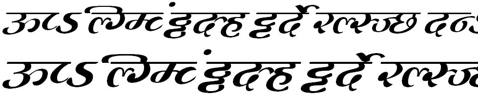 MillenniumMogara Normal Hindi Font