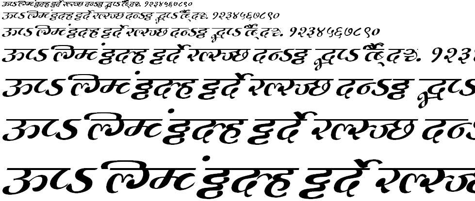 MillenniumMogara Normal Hindi Font