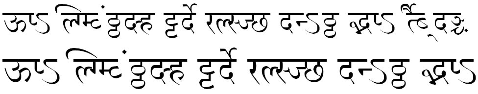 MillenniumNilima Normal Hindi Font