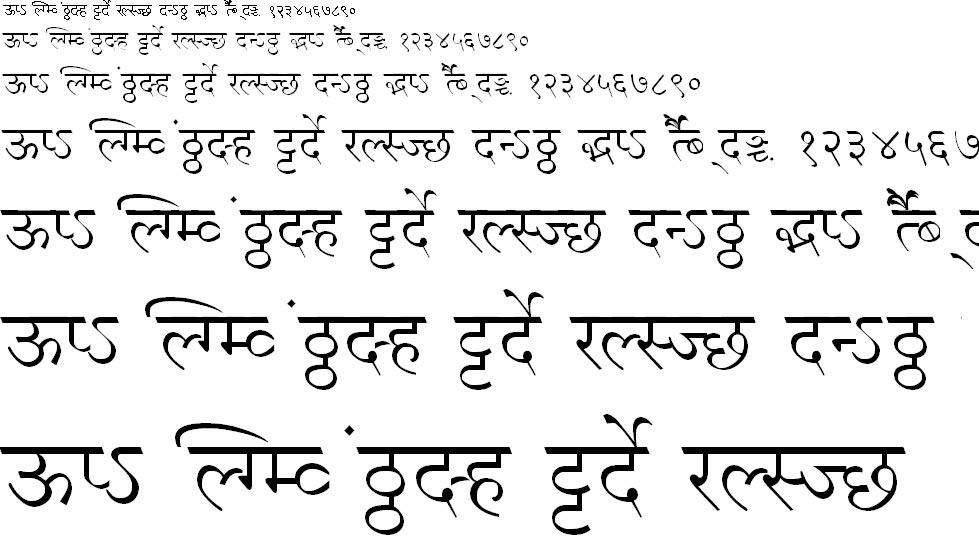 MillenniumPriya Hindi Font