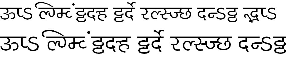 MillenniumShailesh Normal Hindi Font
