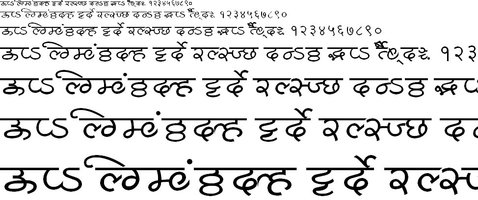 MillenniumShridhar Normal Hindi Font