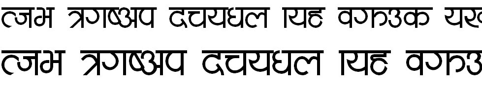 Mote Hindi Font