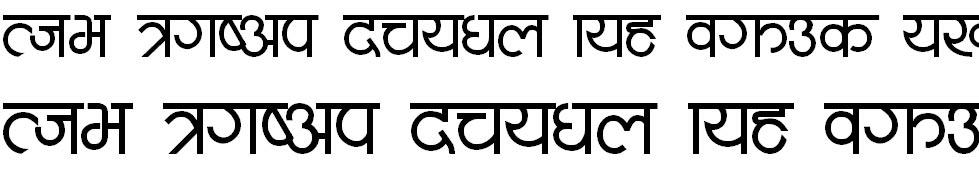 Mote Hindi Font
