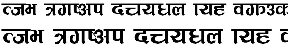 MulTulsi Hindi Font