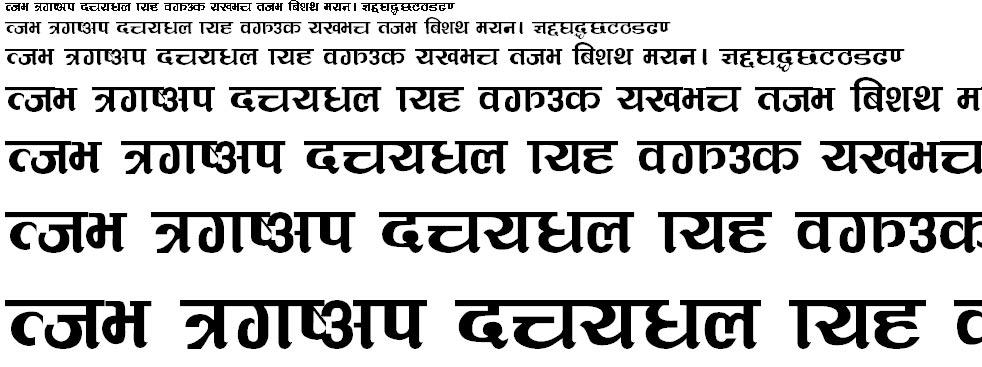 MulTulsi Hindi Font