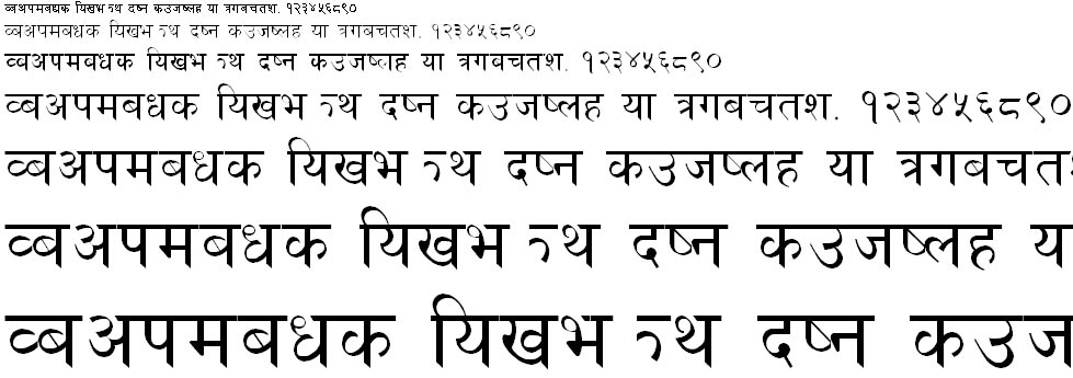 Naresh Hindi Font