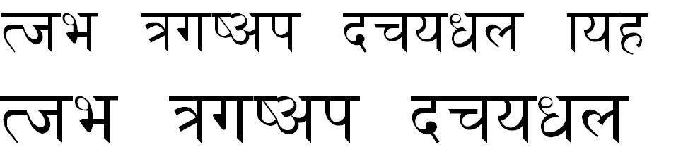 Nepali_DLS_I Italic Hindi Font