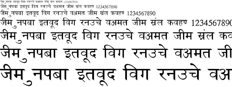 NewDelhi Bold Hindi Font