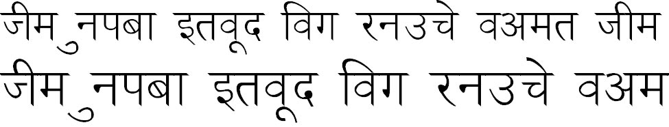 NewDelhi Normal Hindi Font