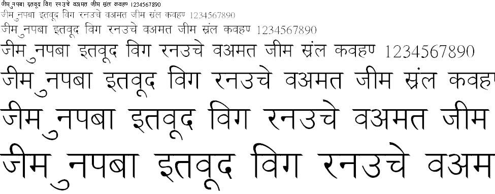 NewDelhi Normal Hindi Font