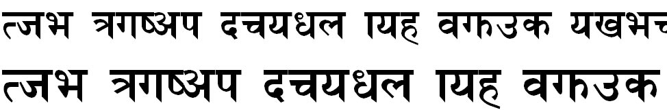 NhimB Hindi Font