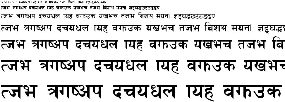 NhimB Hindi Font