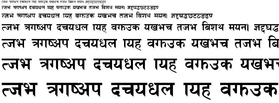 NPCBold Hindi Font