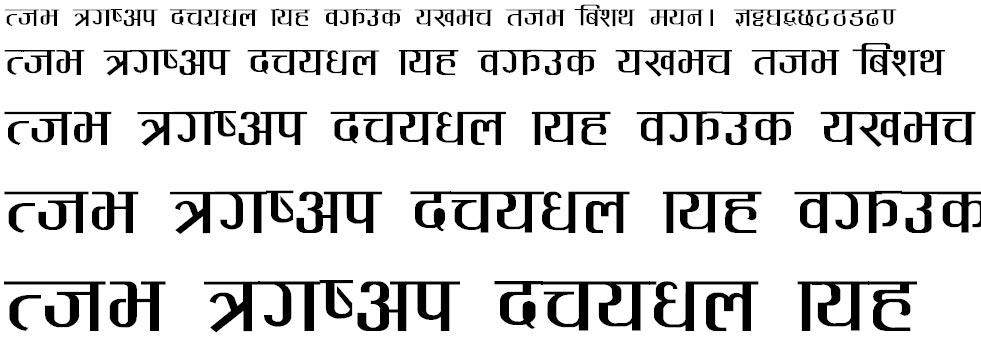 Pagal Hindi Font