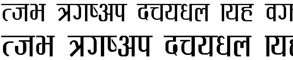 Pagali Hindi Font