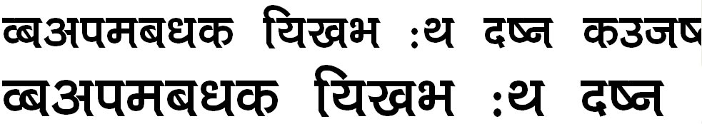 Panauti Normal Hindi Font