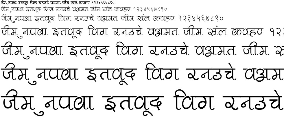 Pankaj Thin Hindi Font