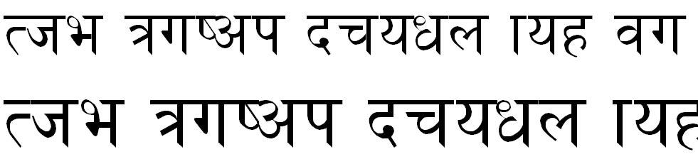 Pari Hindi Font