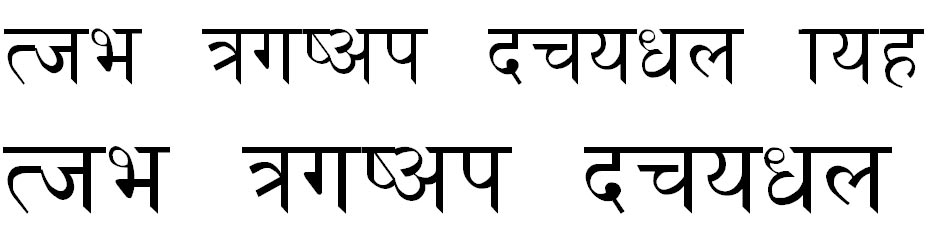 PCS Nepali Normal Hindi Font
