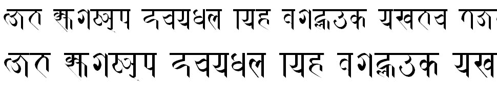 Prachalit Regular Hindi Font
