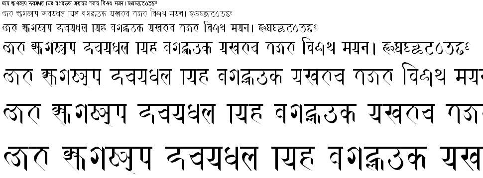 Prachalit Regular Hindi Font