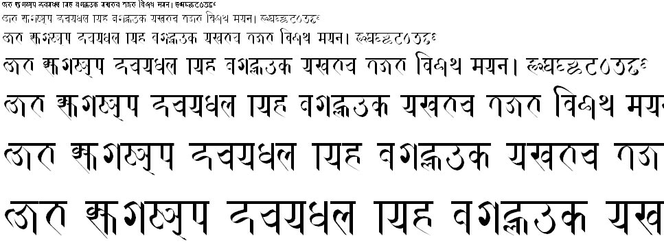 Prachalit Hindi Font