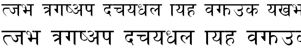 Preeti Hindi Font