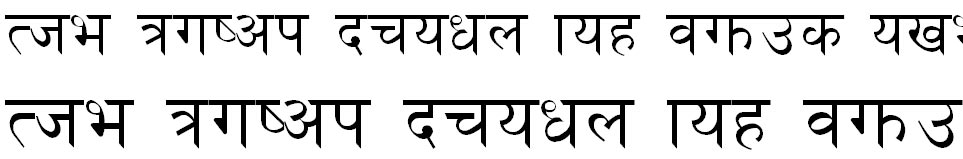 Rajdhani Hindi Font