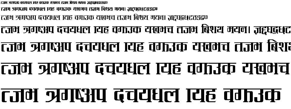 Ramsham Hindi Font