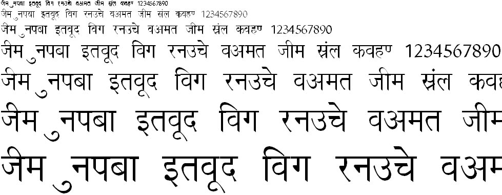 Richa Hindi Font