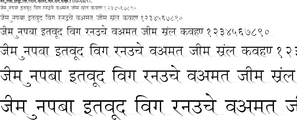 Ruchi Normal Hindi Font