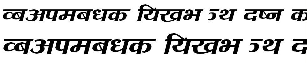 Tara Hindi Font