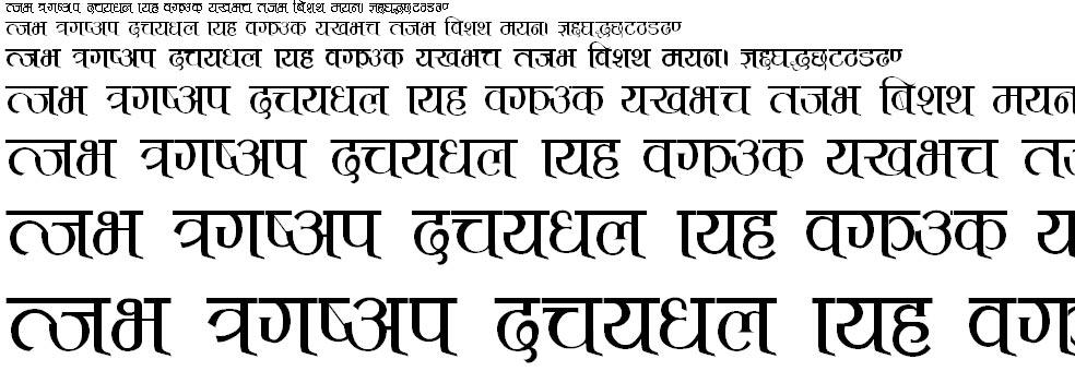 TCS_T Normal Hindi Font