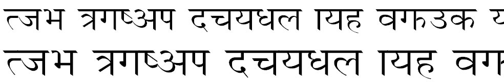 Unnisha Hindi Font