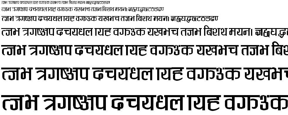 Vikash Hindi Font