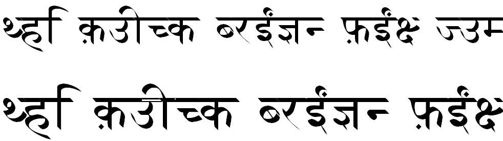 Xdvng Hindi Font